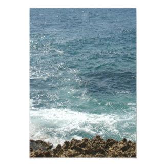 Strand trifft Ozean 12,7 X 17,8 Cm Einladungskarte