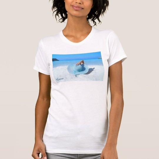 Strand und Feiertags-Gefühl T-Shirt