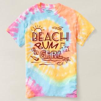 Strand-wertlosmädchen-T-Shirt T-shirt