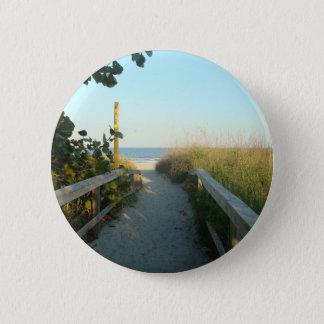 Strand-Zugangs-Knopf Runder Button 5,7 Cm