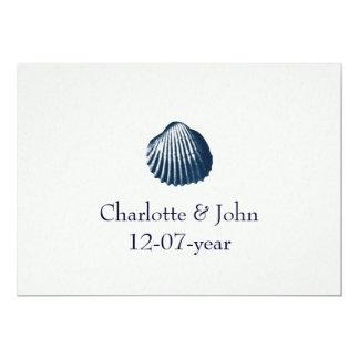 Strandhochzeitseinladung Personalisierte Einladung
