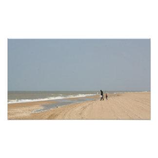 Strandszene Kunstfoto