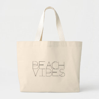 Strandvibes-Strand-Tasche Jumbo Stoffbeutel