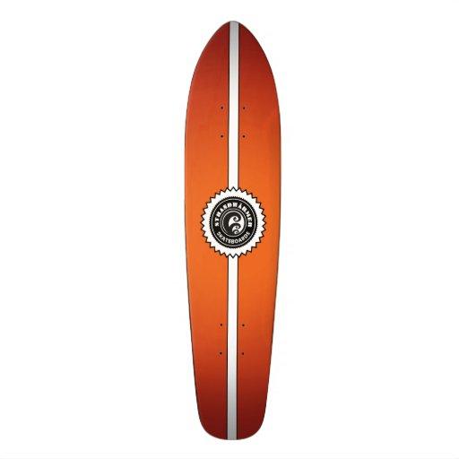 strandw rmer longboard fire skateboard skateboard deck zazzle. Black Bedroom Furniture Sets. Home Design Ideas