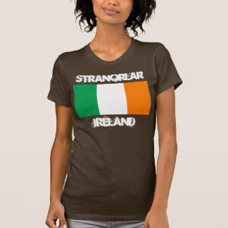 Stranorlar, Irland mit irischer Flagge T-Shirt