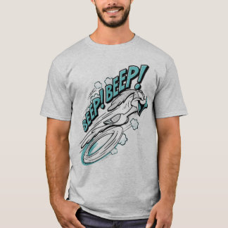 "STRASSE RUNNER™ ""SIGNALTON-SIGNALTON!"" Halbtonbild T-Shirt"