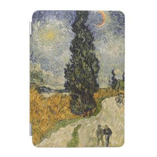 Straße Vincent van Goghs | mit Zypressen, 1890 iPad Mini Cover