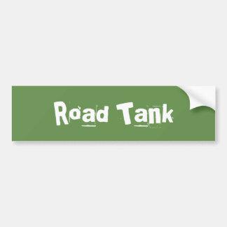 Straßen-Behälter Autoaufkleber