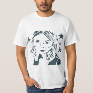 Straßen-Kunst-Frauen-Shirt T-Shirt