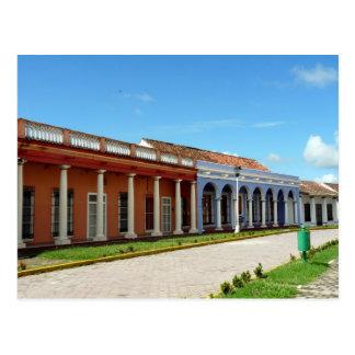 Straßenszene in Tlacotalpan Postkarte