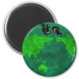 Stratagème du monde magnet rond 8 cm