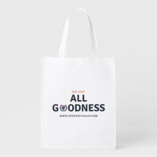 StrategyHaus Wiederverwendungs-Tasche Wiederverwendbare Einkaufstasche