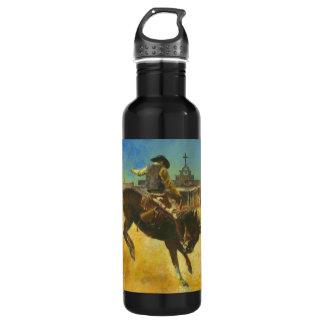 Sträubende Pferden-Flasche Trinkflasche