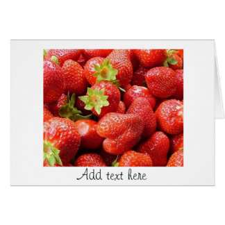 Strawberry Fields Karte