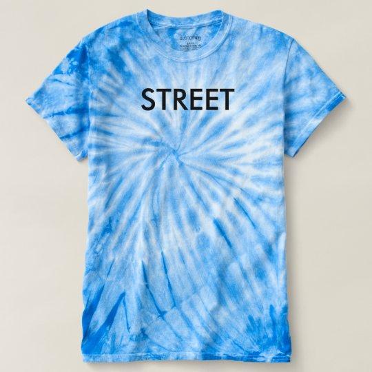 STREET BLAU LOOK T-SHIRT