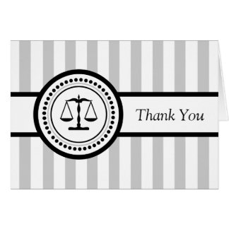 Streifen-legale Skalen danken Ihnen zu kardieren ( Mitteilungskarte