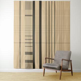 Streifen Wandteppich