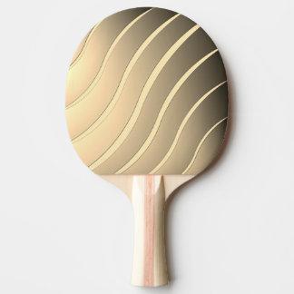 Streifen-Welle Tischtennis Schläger