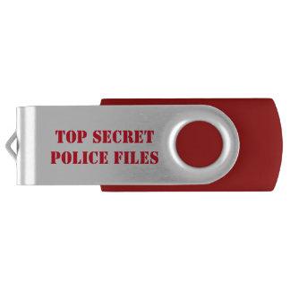 Streng geheim swivel USB stick 2.0