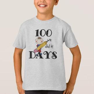 Strichmännchen 100 Tage T-Shirt