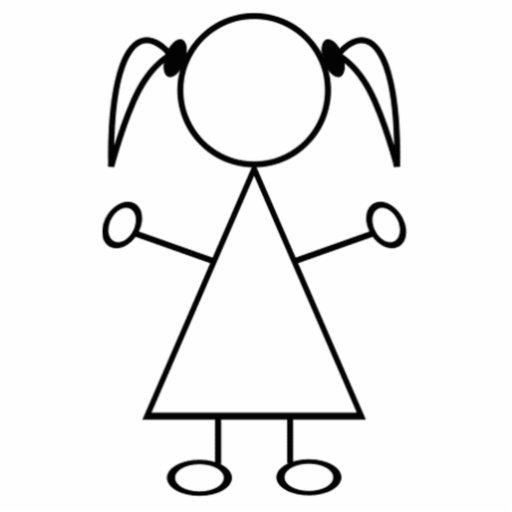 Strichmännchen Mädchen