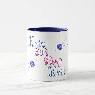 Strick essen Schlaf-Strick Tasse