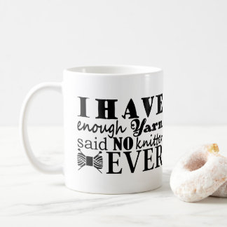 Stricken • Nicht genügend Garn macht 2017 in Kaffeetasse