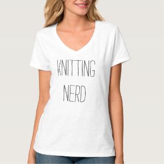 Strickender Nerd T-Shirt