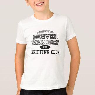 Strickender Verein - wählen Sie eine Größe, eine T-Shirt