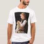 Strickendes Mädchen strickendes Mädchen T-Shirt