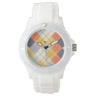 Strickjacke-Hintergrund 2 Armbanduhr