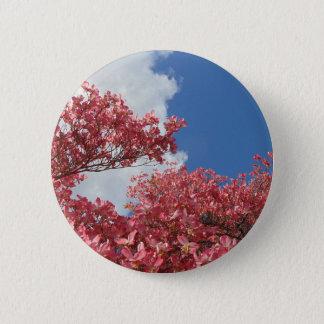 Strom der Blüten Runder Button 5,1 Cm