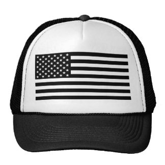 Stromausfall-amerikanische Flagge Trucker Mützen