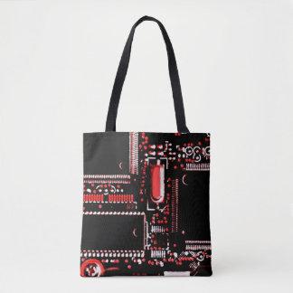 Stromkreis-Rot 2 ganz über Taschentasche Tasche