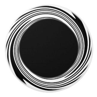 Strudel-Akzent-Griff Keramikknauf