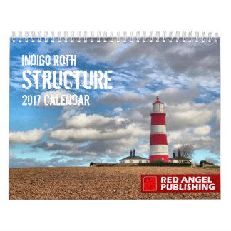 STRUKTUR - Indigo Roths Kalender für 2017