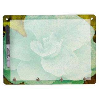 Strukturierte Blume durch Shirley Taylor Trockenlöschtafel Mit Schlüsselanhängern