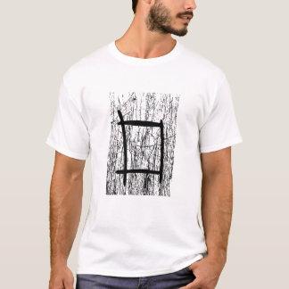 Strukturierter abstrakter Entwurf T-Shirt