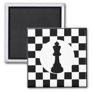 Stück König-Schach - Magnet - Schach-Gastgeschenke