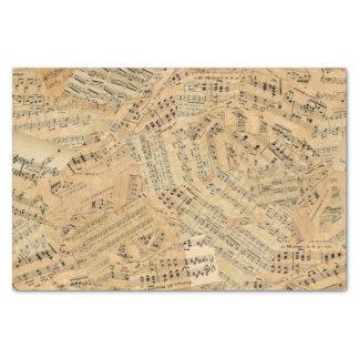 Stücke Vintage Musik ID389 Seidenpapier