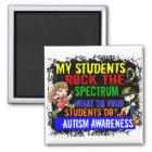 Studenten schaukeln den Spektrum-Autismus Quadratischer Magnet