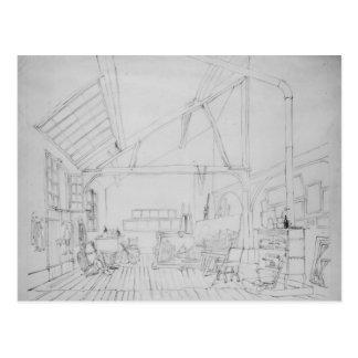 Studio Richard Parkes Boningtons in Paris Postkarte