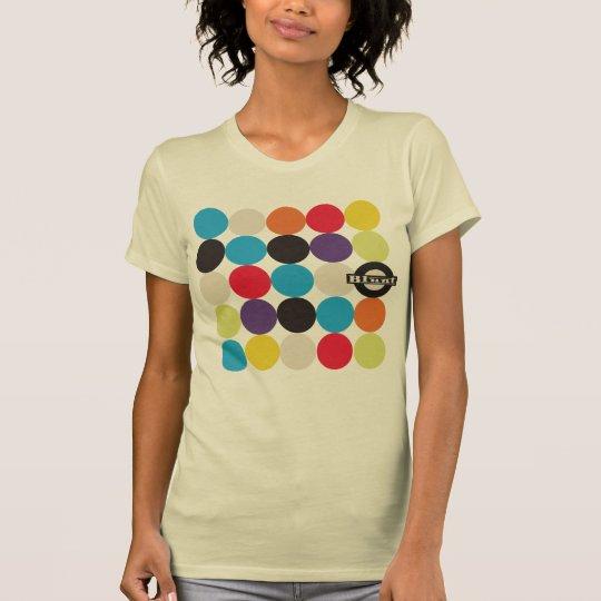 Stumpfer Mädchen-Modernismus T-Shirt