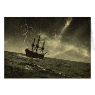 Sturm in Meer Karte