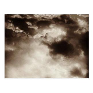 Stürmische Himmel Postkarte