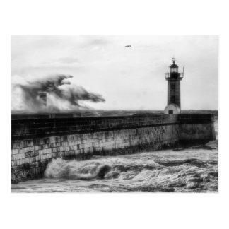 Stürmische Tage… Postkarte