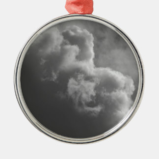Stürmische Wolken Silbernes Ornament