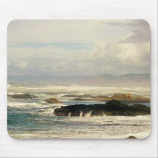 Stürmischer Ozean Mousepads