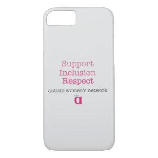 Stützeinbeziehungs-Respekt-Telefon-Kasten iPhone 8/7 Hülle