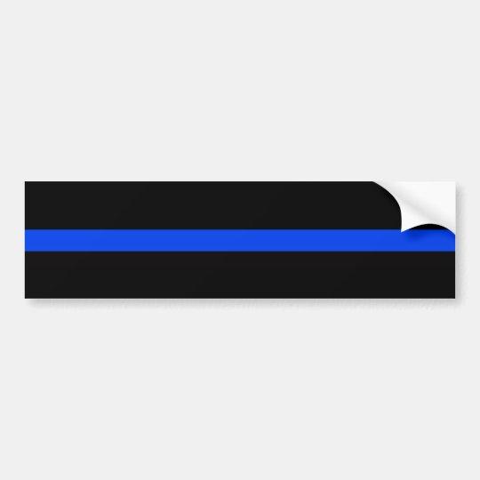 STÜTZEN Sie den POLIZEI Autoaufkleber